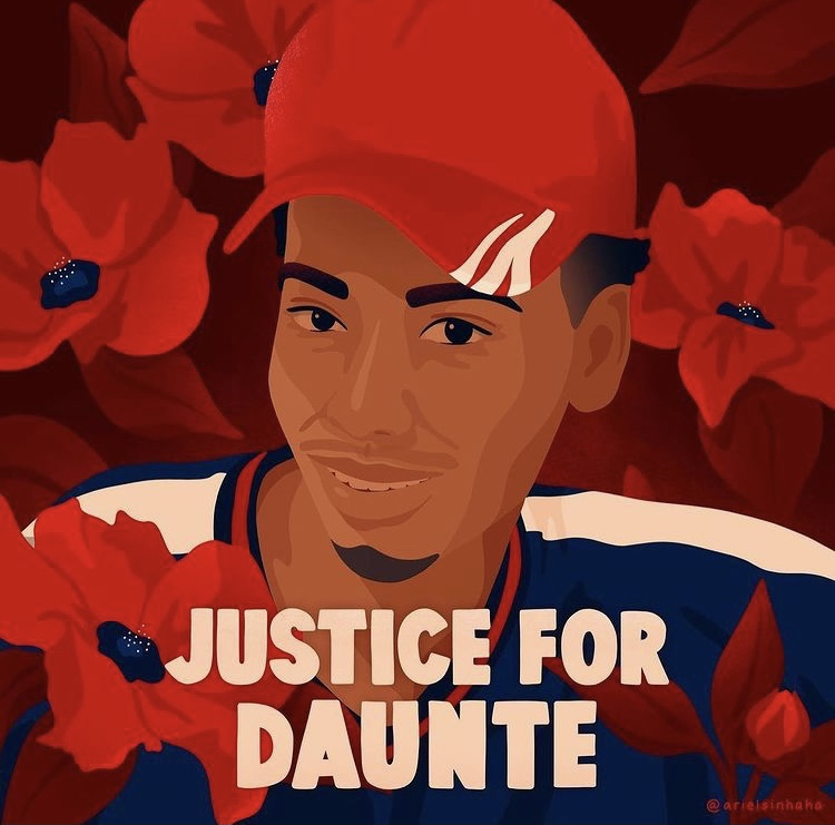 20-Year-Old Daunte Wright shot and killed by police