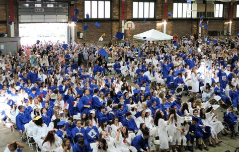 WHS Graduation 2019 (boys wearing blue and girls wearing white)