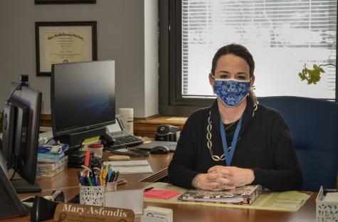 WHS Principal Mary Asfendis