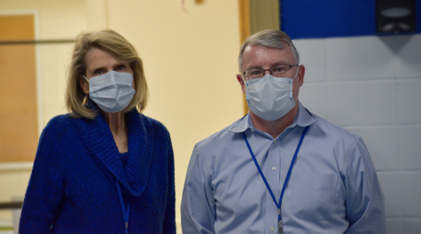 WHS Nurses Carole Stavitski and Robert Ripper