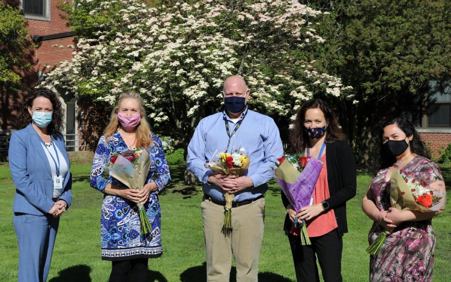 Outstanding teachers recognized at WHS