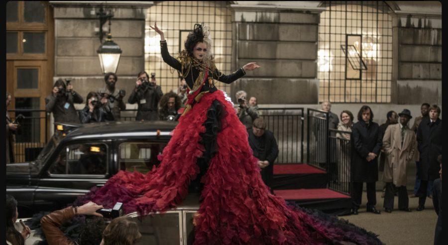 Still from the movie Cruella