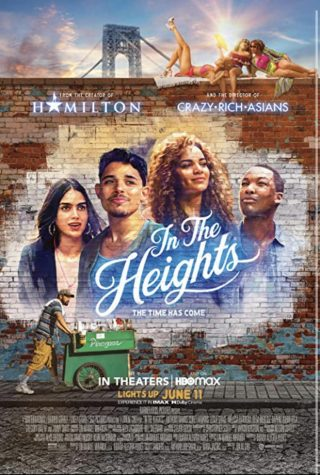 Poster for the new musical In the Heights