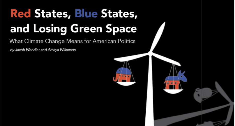 Red States, Blue States and Losing Green Space