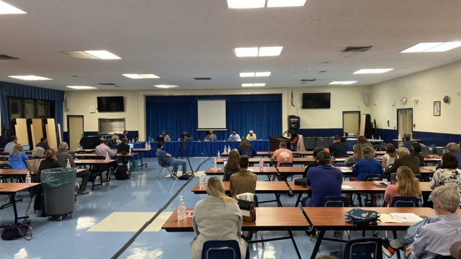 BOE meeting at WHS on Oct. 5